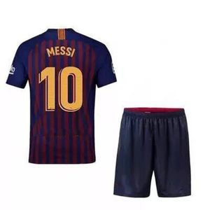 MAILLOT FOOT AMERICAIN Barca Lionel NO.10 Messi Jersey Adulte Maillots Fo