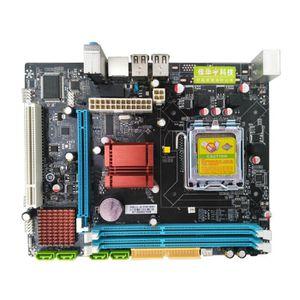 CARTE MÈRE NEüFU Carte Mère P45 DDR3 LGA 771/775 CPU SATA Ord