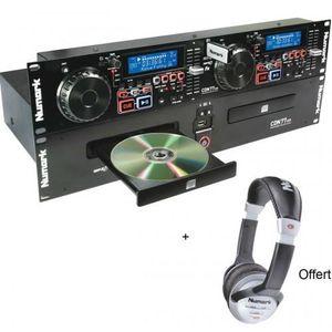 PLATINE DJ Pack Numark Cdn 77 Usb - Platines Double Cd Cdn +