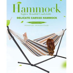 HAMAC Hamac de jardin Hamac double camping + support en