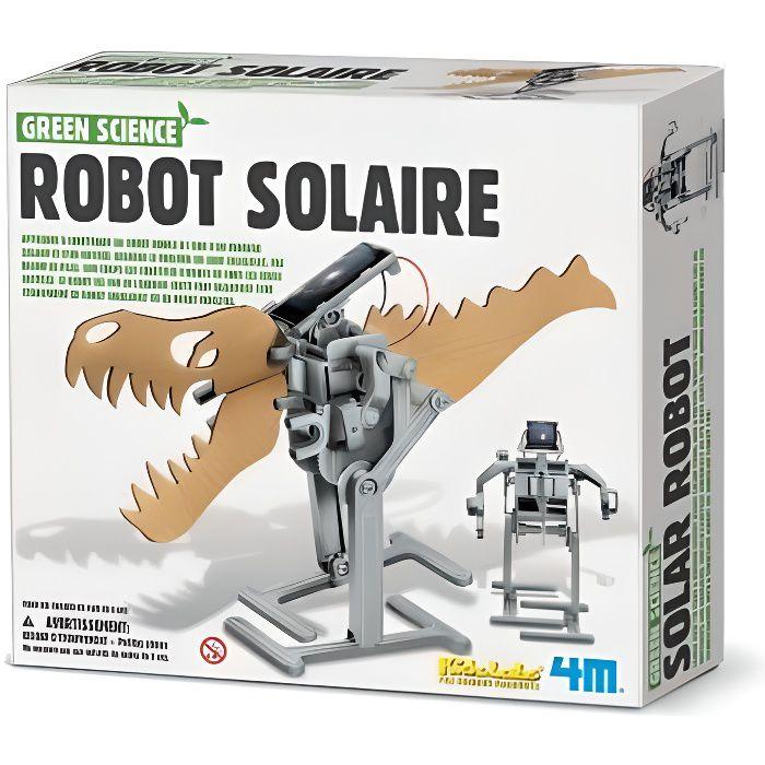 ASSEMBLAGE CONSTRUCTION Kit de fabrication Robot Solaire