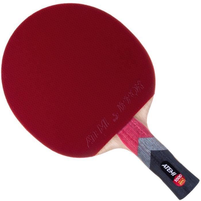 Atemi Raquette De Ping Pong Pro Line 1000 - Control Et Puissance Supérieur - Approuvé par L'ITTF - Raquette Fabriquée avec Matéri