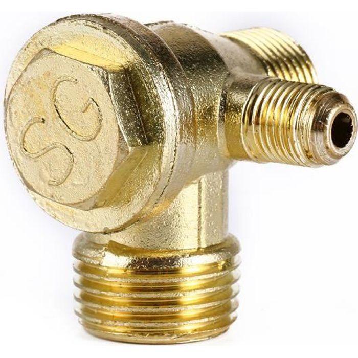 Compresseur d'air clapet anti-retour-unidirectionnelles clapet anti-retour Connect Raccords de tuyaux- BOB