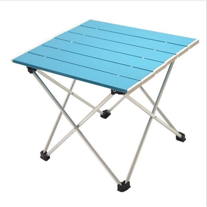 Tables de jardin LGFSG Table Pliante Meubles d'extérieur de Jardin Tables Pliantes carrées Noires, Tables d'extérieur po 100983