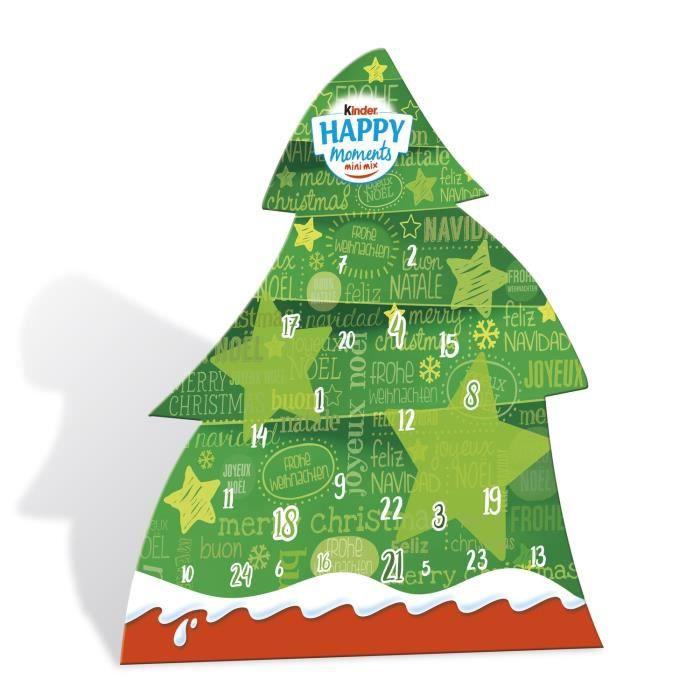 Chocolat calendrier de l'avent Happy Moments KINDER