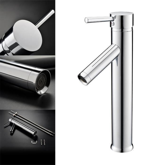 Robinet Design lavabo bec rehaussé pour salle de bain