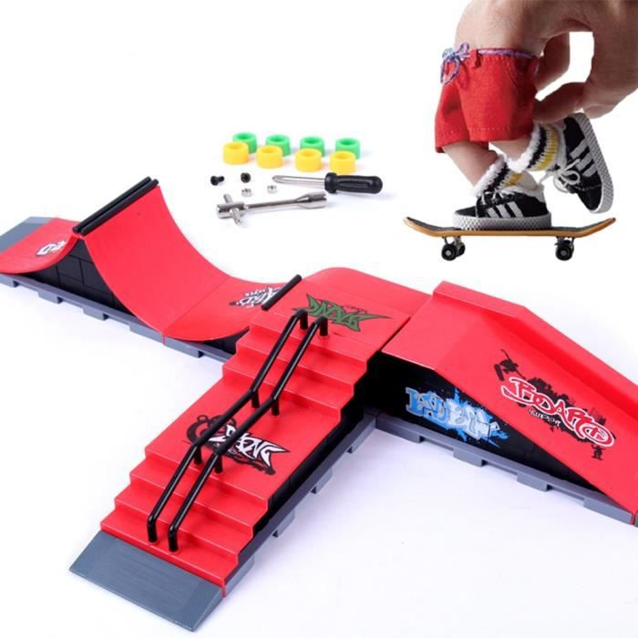 Ensemble de jouets de planche à roulettes, jouet de planche à roulettes, sports extrêmes intérieurs