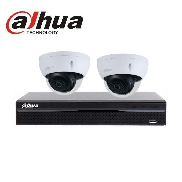 kit dahua 2 Caméras IP PoE 2mégapixels vidéosurveillance