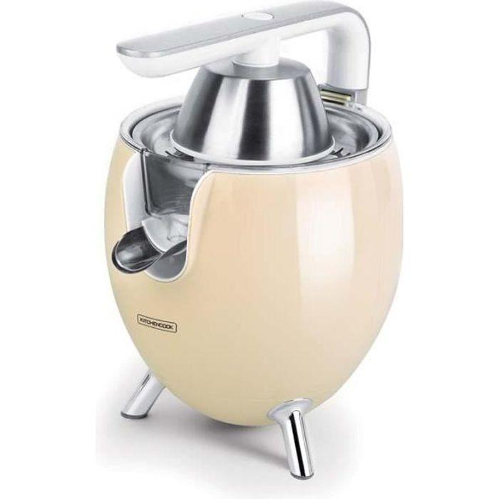 Presse Agrume Electrique Design Avec Bras Articulé En Aluminium Presspod Creme De Kitchencook