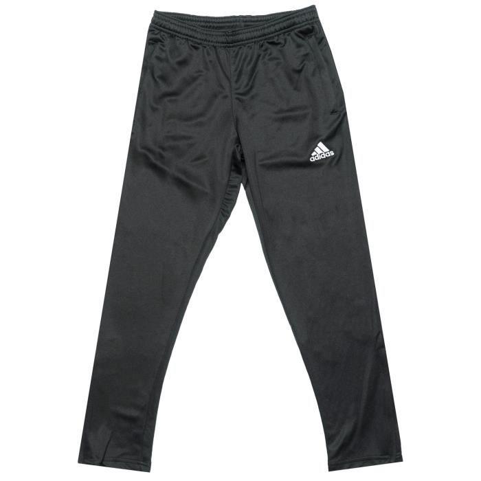 Pantalon Adidas Core Training Pour Garçon En Noir Et Blanc