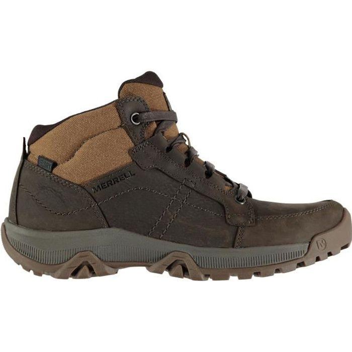 Merrell Hommes Anvik Pace Chaussures De Marche Randonnée Montagne Chaussures