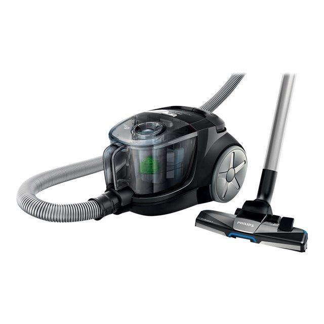Aspirateur sans sac Philips PowerPro Compact FC8477/91 noir, vert