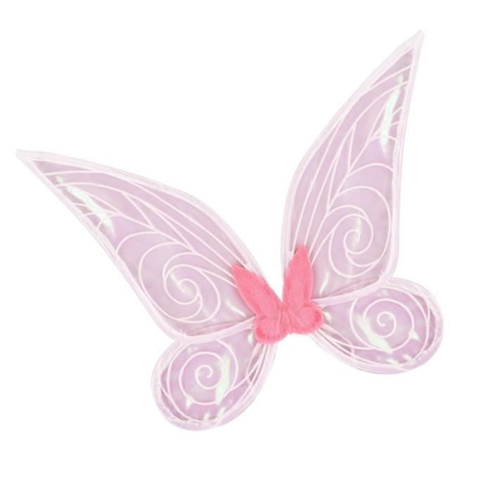 1pc papillon Wing Decor Party Dress Décoration Stage Performance Supply (Rose) AUTRE ACCESSOIRE DEGUISEMENT VENDU SEUL