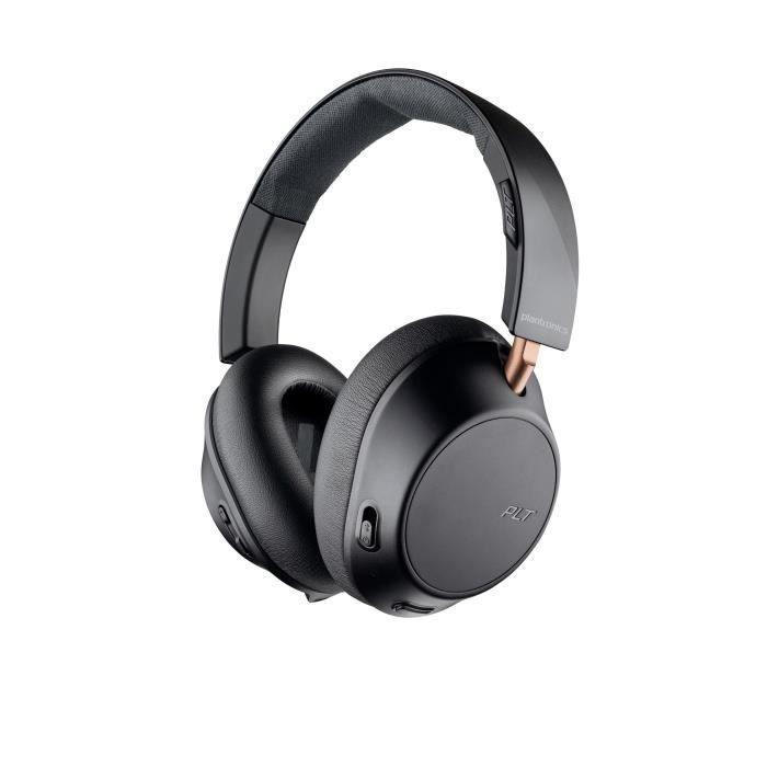 PLANTRONICS BackBeat GO 810 Casque avec Active Noise Cancelling - Noir graphite