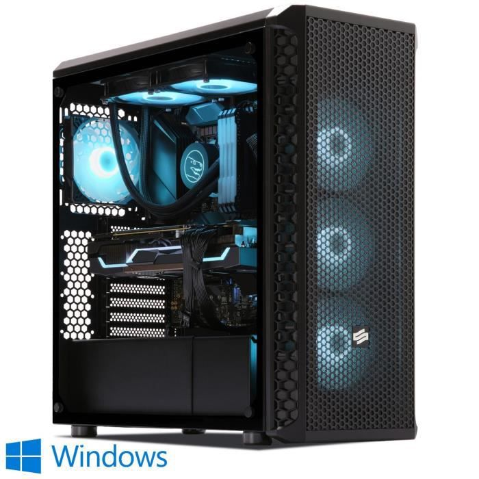 Pc Gamer, Intel i7, Rtx 2070, 500Go Ssd Nvme M.2 Pcie, 3To Hdd, 32 Go Ram, Win 10. Ref: Ucm6196i2i1hf