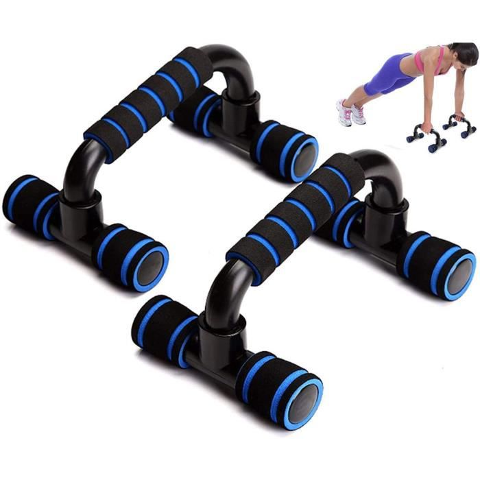 1 paire de supports de barres Home Gym Exercise Fitness Push Up Stand Grips pour hommes et femmes Workout Push-up Exercise