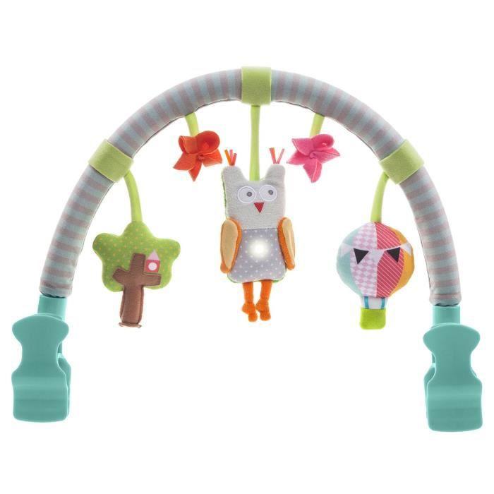 Taf Toys Jouet pour poussette Chouette Arche Musicale 11795