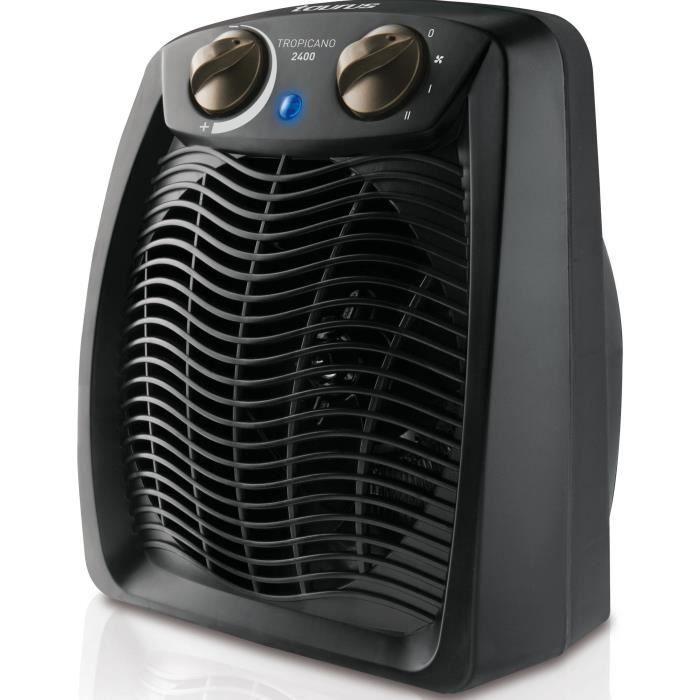 Chauffage soufflant TROPICANO 2400 W noir