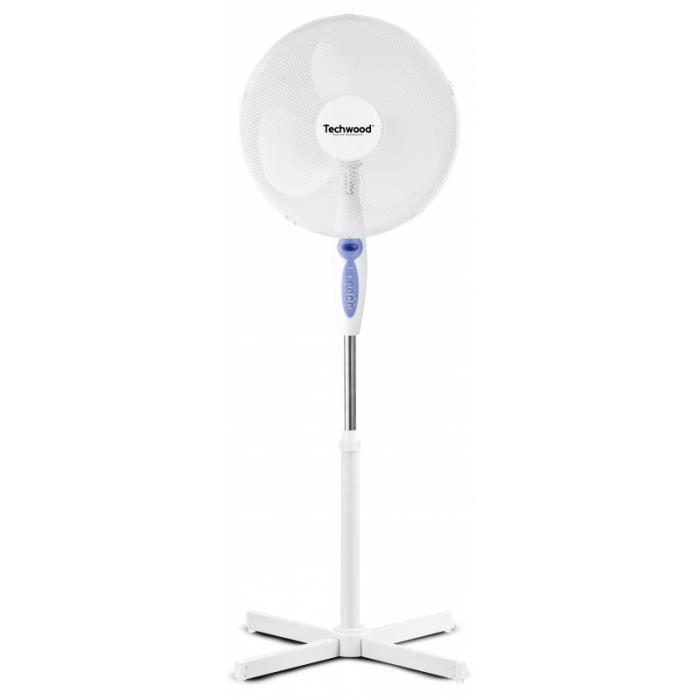Ventilateur sur Pied avec Télécommande TECHWOOD