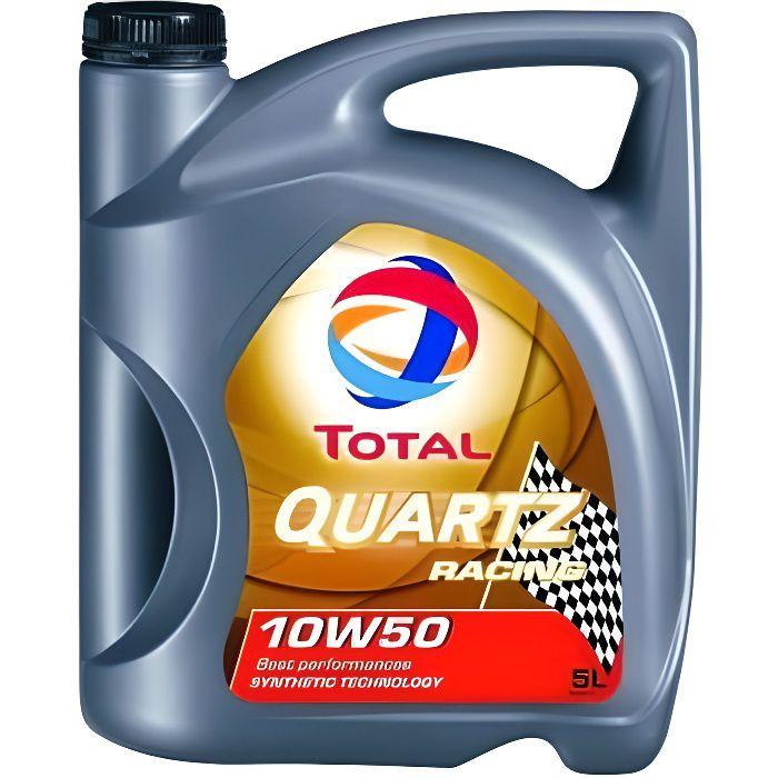 TOTAL Quartz Racing 10W50 - Conditionnement - B...