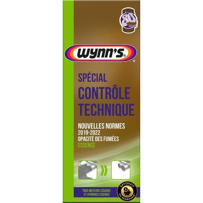 WYNN'S Traitement spécial contrôle technique - Essence - 325 ml - Edition 80 ans