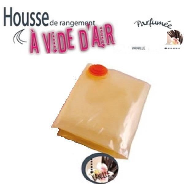 HOUSSE DE RANGEMENT Housse de rangement sous vide parfumée VANILLE 98x