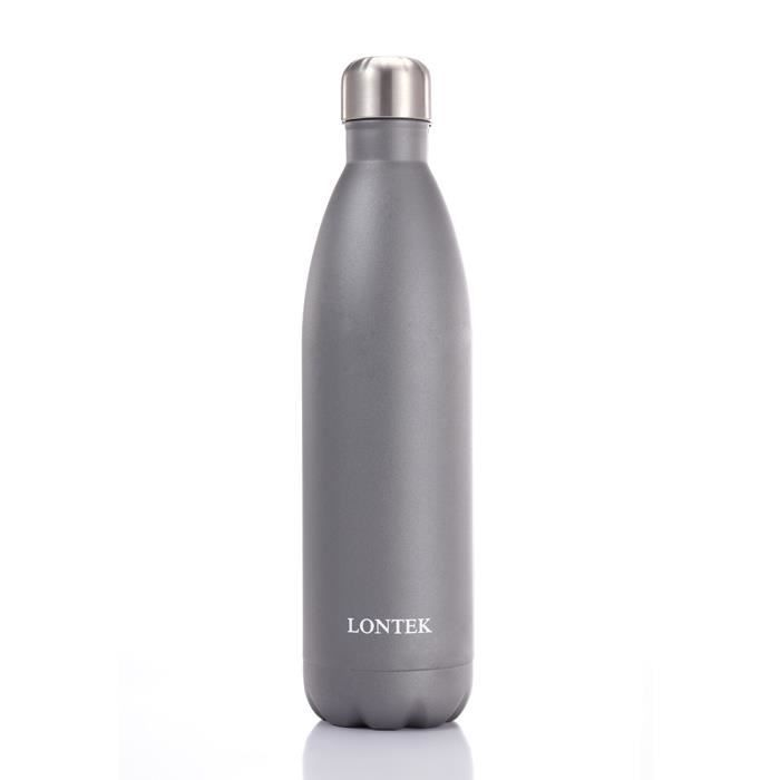 bouteille thermos Isotherme Chaud ou Froid double paroi inox incassable 1,5 L 70