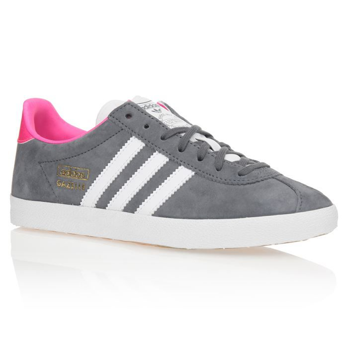 gazelle adidas femme grise et rose chaussures de. Black Bedroom Furniture Sets. Home Design Ideas