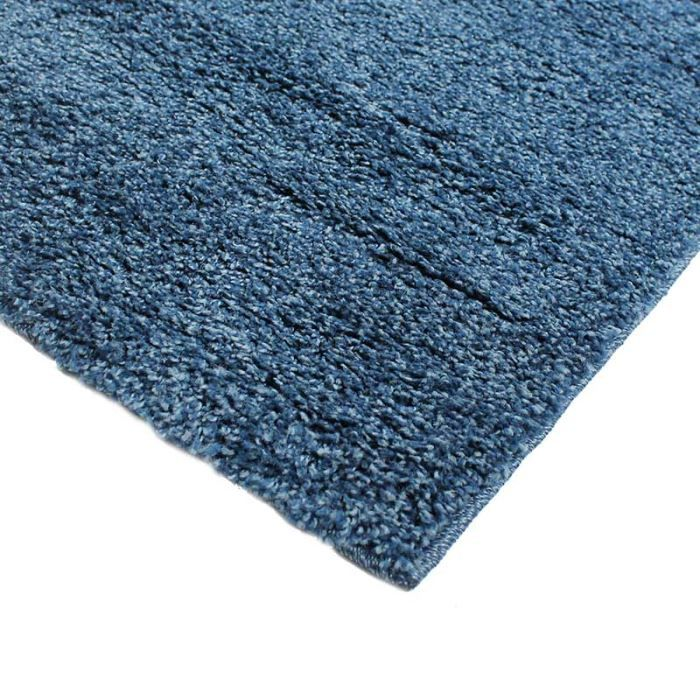 casa shaggy tapis 120x170 bleu achat vente tapis. Black Bedroom Furniture Sets. Home Design Ideas
