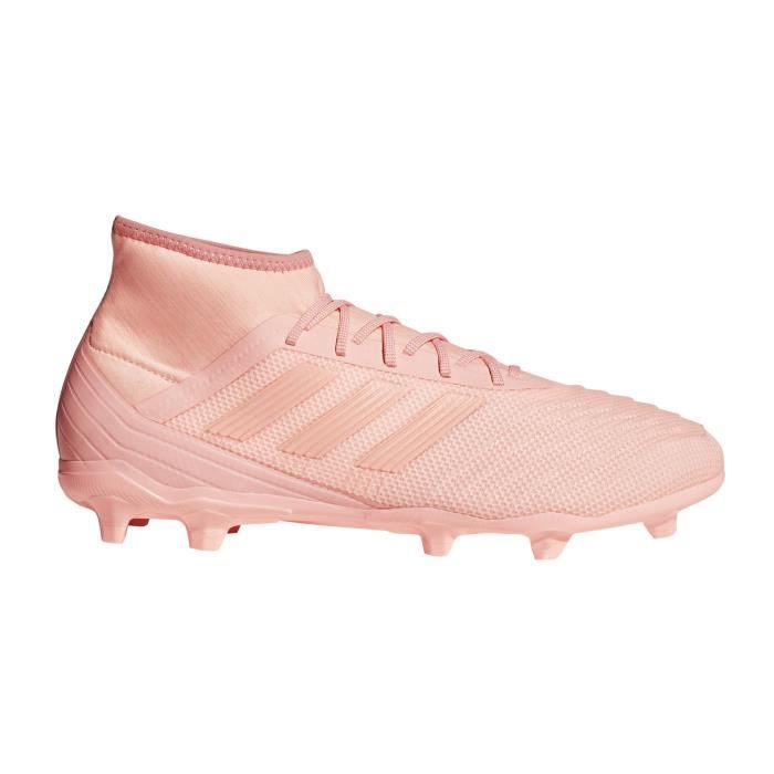 Chaussures football adidas Predator 18.2 FG Rose