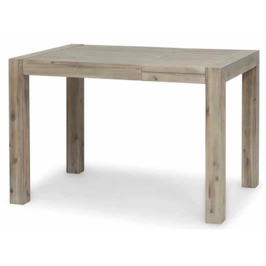 Fossil table de bar en acacia truffe blanchie achat for Achat table bar