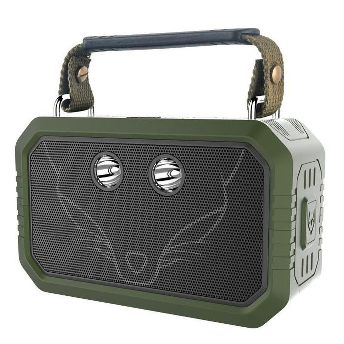 ENCEINTE NOMADE Enceinte Bluetooth, DOSS Traveler 20W Stéréo Sans