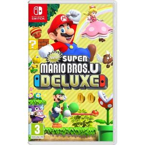 JEU NINTENDO SWITCH New Super Mario Bros U Deluxe Jeu Switch