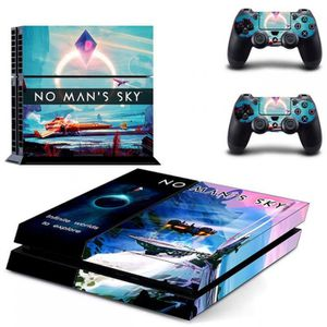 STICKER - SKIN CONSOLE Sticker-decal Autocollant Ps4 - No man's sky infin