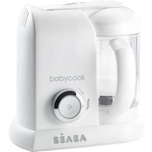ROBOT BÉBÉ BEABA Robot Bébé Babycook Solo Blanc & Argent