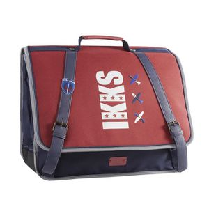 CARTABLE Cartable 41 cm IKKS FLIGHT 0018 - Rouge