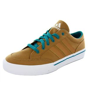 BASKET ADIDAS baskets homme GVP CANVAS STR tennis brun bl