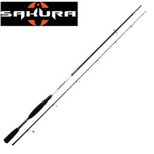 CANNE À PÊCHE Canne Sakura Sportism Spinning SPS 782-M-SW
