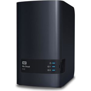 SERVEUR STOCKAGE - NAS  WD NAS My Cloud EX2 Ultra 0To 3,5