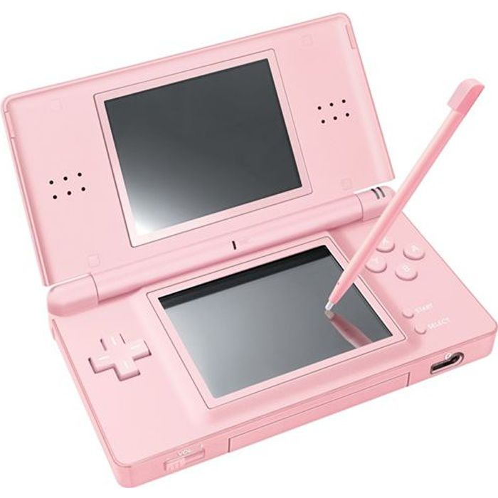 console nintendo ds lite rose achat vente console ds lite dsi nintendo console ds lite. Black Bedroom Furniture Sets. Home Design Ideas