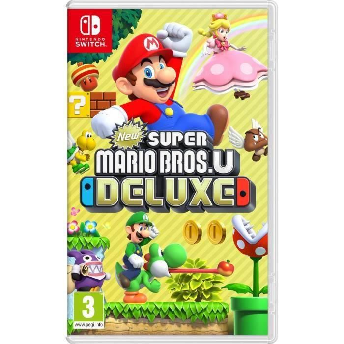 JEU NINTENDO SWITCH New Super Mario Bros U Deluxe Jeu Switch