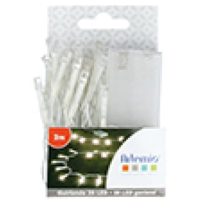 Guirlande lumineuse LED Blanc 2m - Artémio {couleur}