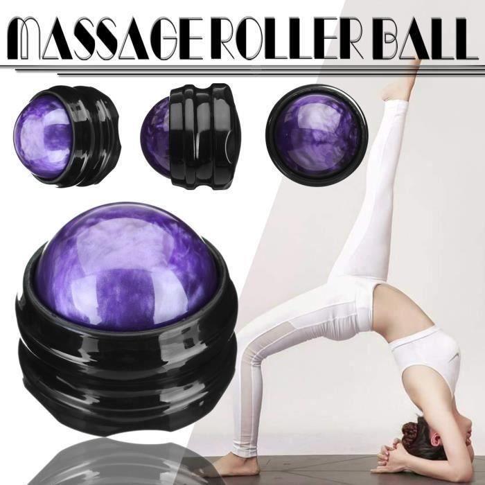 Balle Massage Résine Balle Musculation Pour Mobilité Entraînement Fitness Equipment Trigger Point Relaxe Muscle Pied VIOLET Aa49793