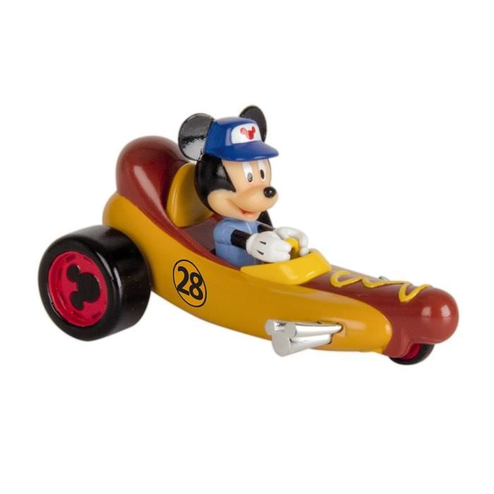 Mickey Mouse et roadster racers 183759. Mickey Mouse. Voiture de hot-dog