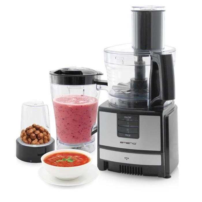 Robot de cuisine multifonction 600 W Emerio FP-109503