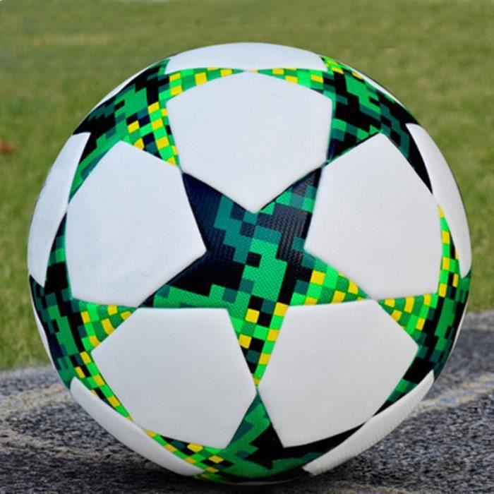 Zencart Ballon De Football Taille 5 Ballon De Football Sans Couture équipement D'entraînement Professionnel But équipe Exercice M
