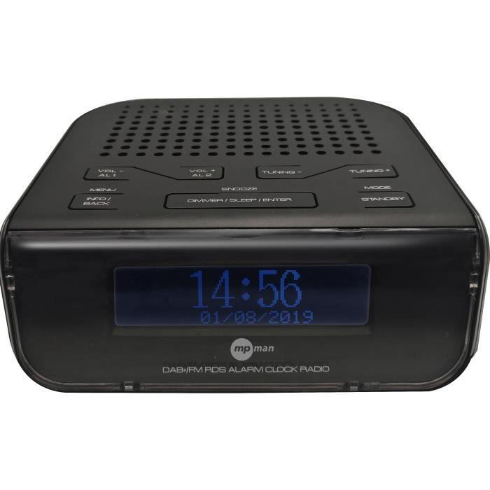 MPMAN Radio FM - DAB + - Alarme