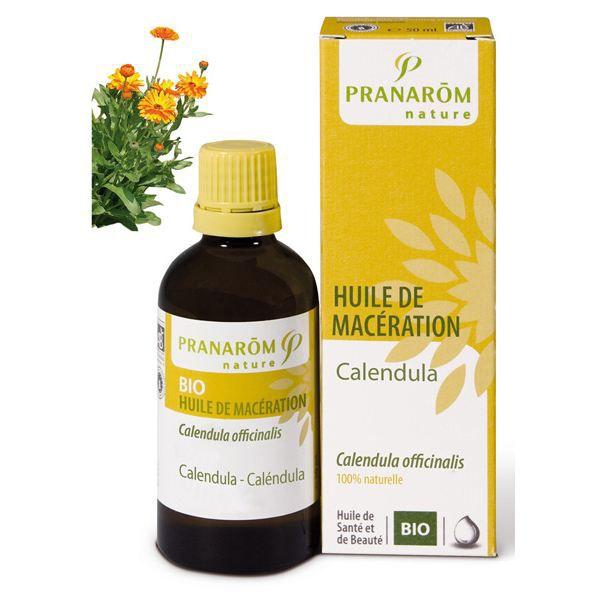 Huile végétale calendula ( huile de macération )