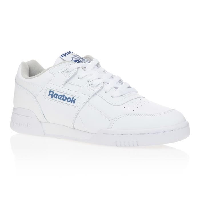 REEBOK Baskets Workout - Homme - Blanc
