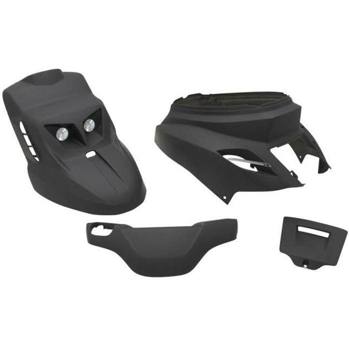 Kit carénage noir mat design Replay pour scooter Yamaha 50 Bw's 2004 à 2020 Neuf